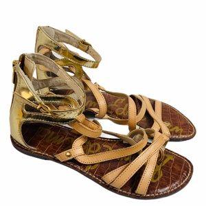 Sam Edelman Glinda Gladiator leather sandals